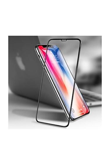 Bca iPhone XR 3D Komple Kaplayan Kırılmaz Ekran Koruyucu Full Cam Renkli